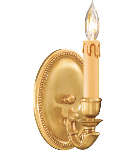 Metropolitan N9808-FG Signature 1 Light 5 inch French Gold Wall Sconce Wall Light photo