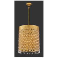 Metropolitan N7855-707 Sable Point 12 Light 26 inch Sand Black/Honey Gold Pendant Ceiling Light