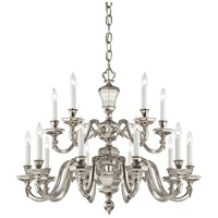 Casoria 15 Light 33 inch Polished Nickel Chandelier Ceiling Light