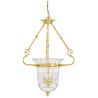 Metropolitan Signature 3 Light Pendant in Brass N1196
