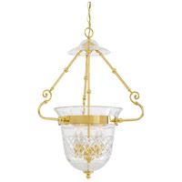 Metropolitan Signature 5 Light Pendant in Brass N1197