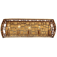 Metropolitan N1375-597 Abbondanza 5 Light 26 inch Halcyon Gold Bath Bar Wall Light