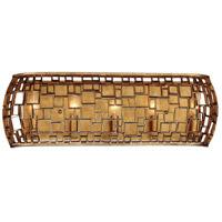 Metropolitan N1375-597 Abbondanza 5 Light 26 inch Halcyon Gold Bath-Bar Lite Wall Light