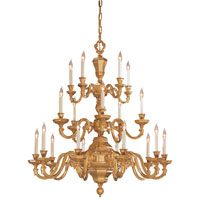Metropolitan Metropolitan Family 20 Light Chandelier in Polished Brass N1401