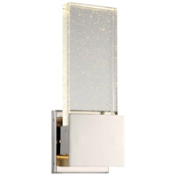 Stellaris LED 5 inch Polished Nickel Bath-Bar Lite Wall Light