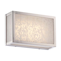 Metropolitan Lake Frost LED Bath Bar in Polished Nickel N1741-613-L