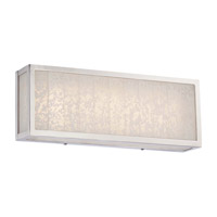 Metropolitan Lake Frost LED Bath Bar in Polished Nickel N1742-613-L
