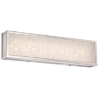 Metropolitan N1743-613-L Lake Frost LED 24 inch Polished Nickel Bath-Bar Lite Wall Light