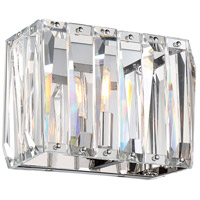 Coronette 1 Light 11 inch Chrome Bath Bar Wall Light