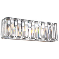 Coronette 4 Light 25 inch Chrome Bath Bar Wall Light