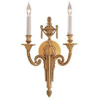 Signature 2 Light 10 inch Polished Gold ADA Wall Sconce Wall Light