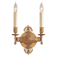 Signature 2 Light 9 inch French Gold Sconce Wall Light