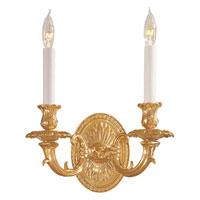 Metropolitan Signature 2 Light Sconce in French Gold N201902