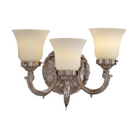 Metropolitan Metropolitan Family 3 Light Wall Sconce in Polished Chrome N202003-PC