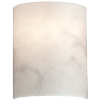 Metropolitan Signature 1 Light Wall Sconce in Alabaster Dust N2034