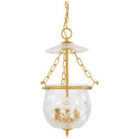 Metropolitan Signature 3 Light Pendant in Brass N2045