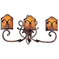 Metropolitan Gran Canaria 3 Light Bath in Cartouche Bronze N2053-265
