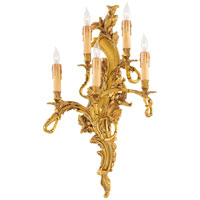 Metropolitan Signature 5 Light Sconce in Aged French Gold N2195-L