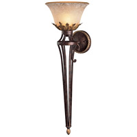 Zaragoza 1 Light 12 inch Golden Bronze Sconce Wall Light