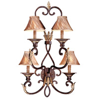 Metropolitan Zaragoza 4 Light Sconce in Golden Bronze (shade sold separately) N2237-355