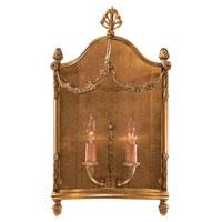 Metropolitan Signature 2 Light Sconce in Antique French Gold N2310