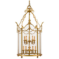 Metropolitan Signature 10 Light Pendant in Antique French Gold N2313 photo thumbnail