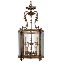 Signature 9 Light 25 inch Antique Bronze Patina Pendant Ceiling Light