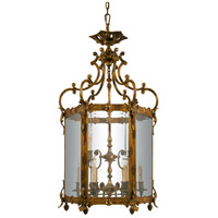 N2345 Metropolitan Metropolitan 9 Light 26 inch Oxide Brass Foyer Pendant Ceiling Light