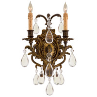 Metropolitan Signature 2 Light Sconce in Antique Bronze Patina N2414