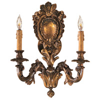 Signature 2 Light 14 inch Oxide Brass Wall Sconce Wall Light