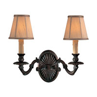Metropolitan Signature 2 Light Sconce in Aged Bronze (shade sold separately) N2432-26