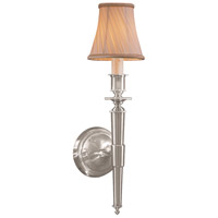 Metropolitan Signature 1 Light Sconce in Brushed Nickel (shade sold separately) N2461-84