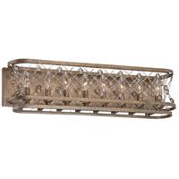 Metropolitan N2588-272 Vel Catena 8 Light 28 inch Arcadian Gold Bath Bar Wall Light