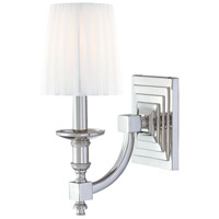 Metropolitan Signature 1 Light Sconce in Polished Nickel N2641-613 photo thumbnail