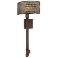 Metropolitan Ajourer 1 Light Sconce in French Bronze N2721-258