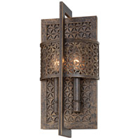 Metropolitan Ajourer  2 Light Sconce in French Bronze N2725-258