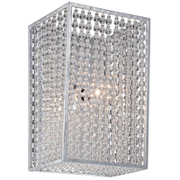Metropolitan N2731-598 Saybrook 1 Light 7 inch Catalina Silver Bath-Bar Lite Wall Light