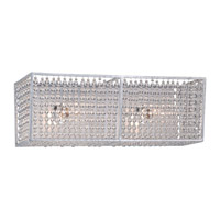 Metropolitan Saybrook 2 Light Bath Bar in Catalina Silver N2732-598