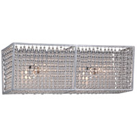 Saybrook 2 Light 17 inch Catalina Silver Bath Bar Wall Light