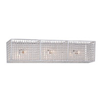 Metropolitan Saybrook 3 Light Bath Bar in Catalina Silver N2733-598