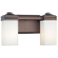 Metropolitan Signature 2 Light Bath in Dark Brushed Bronze N2812-267