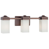 Metropolitan Signature 3 Light Bath in Dark Brushed Bronze N2813-267