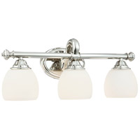 Metropolitan Signature 3 Light Bath in Polished Nickel N2823-613
