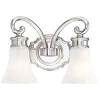 Metropolitan Signature 2 Light Bath in Polished Nickel N2842-613
