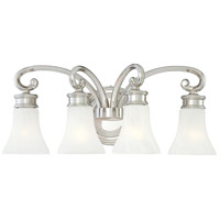 Metropolitan Signature 4 Light Bath in Polished Nickel N2844-613