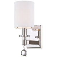 Metropolitan N2850-613 Chadbourne 1 Light 5 inch Polished Nickel Wall Sconce Wall Light