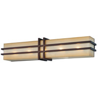 Metropolitan N2955-1-267B Underscore 5 Light 25 inch Cimmaron Bronze Bath-Bar Lite Wall Light