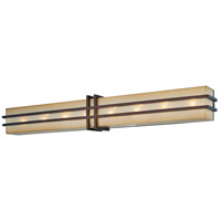 Metropolitan N2958-1-267B Underscore 8 Light 37 inch Cimmaron Bronze Bath-Bar Lite Wall Light