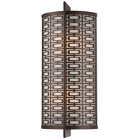 Atelier 2 Light 8 inch Cimarron Bronze Bath Bar Wall Light