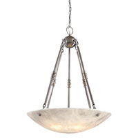 Metropolitan Signature 5 Light Pendant in Bronze Patina Pewter N3605-PW